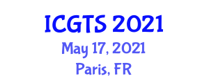 International Conference on Gastronomy Tourism Studies (ICGTS) May 17, 2021 - Paris, France