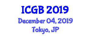 International Conference on Genetics and Bioengineering (ICGB) December 04, 2019 - Tokyo, Japan