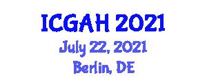 International Conference on Genetics for Animal Health (ICGAH) July 22, 2021 - Berlin, Germany