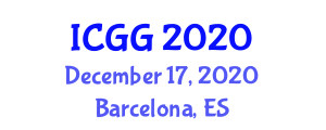 International Conference on Geochronology and Geography (ICGG) December 17, 2020 - Barcelona, Spain