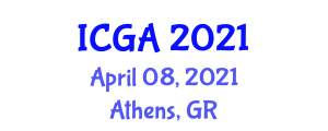 International Conference on Geography and Anthropology (ICGA) April 08, 2021 - Athens, Greece