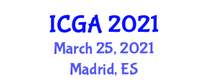International Conference on Geography and Anthropology (ICGA) March 25, 2021 - Madrid, Spain