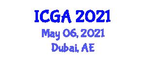 International Conference on Geography and Anthropology (ICGA) May 06, 2021 - Dubai, United Arab Emirates