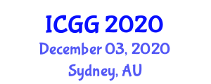 International Conference on Geography and Geochronology (ICGG) December 03, 2020 - Sydney, Australia