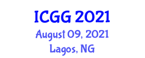 International Conference on Geography and Geochronology (ICGG) August 09, 2021 - Lagos, Nigeria
