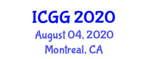 International Conference on Geography and Geosciences (ICGG) August 04, 2020 - Montreal, Canada