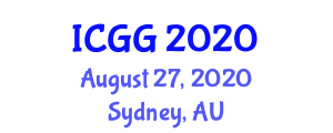 International Conference on Geography and Geosciences (ICGG) August 27, 2020 - Sydney, Australia