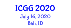 International Conference on Geography and Geosciences (ICGG) July 16, 2020 - Bali, Indonesia
