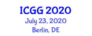 International Conference on Geography and Geosciences (ICGG) July 23, 2020 - Berlin, Germany