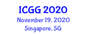 International Conference on Geography and Geosciences (ICGG) November 19, 2020 - Singapore, Singapore