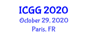 International Conference on Geography and Geosciences (ICGG) October 29, 2020 - Paris, France