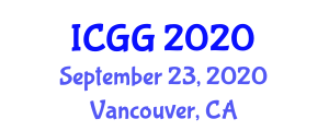 International Conference on Geography and Geosciences (ICGG) September 23, 2020 - Vancouver, Canada