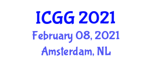 International Conference on Geography and Geosciences (ICGG) February 08, 2021 - Amsterdam, Netherlands