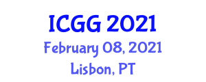 International Conference on Geography and Geosciences (ICGG) February 08, 2021 - Lisbon, Portugal