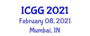 International Conference on Geography and Geosciences (ICGG) February 08, 2021 - Mumbai, India