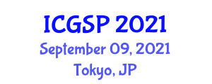 International Conference on Geography and Spatial Planning (ICGSP) September 09, 2021 - Tokyo, Japan