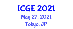 International Conference on Geography and the Environment (ICGE) May 27, 2021 - Tokyo, Japan