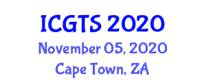 International Conference on Geography of Transport Systems (ICGTS) November 05, 2020 - Cape Town, South Africa