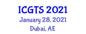 International Conference on Geography of Transport Systems (ICGTS) January 28, 2021 - Dubai, United Arab Emirates
