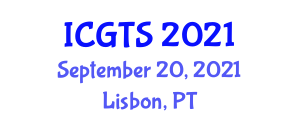 International Conference on Geography of Transportation Systems (ICGTS) September 20, 2021 - Lisbon, Portugal