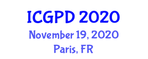 International Conference on Geography, Planning and Development (ICGPD) November 19, 2020 - Paris, France