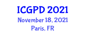 International Conference on Geography, Planning and Development (ICGPD) November 18, 2021 - Paris, France