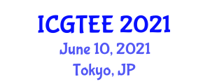 International Conference on Geography, Transport, Energy and Environment (ICGTEE) June 10, 2021 - Tokyo, Japan