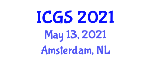 International Conference on Geohazards and Seismology (ICGS) May 13, 2021 - Amsterdam, Netherlands