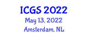 International Conference on Geohazards and Seismology (ICGS) May 13, 2022 - Amsterdam, Netherlands