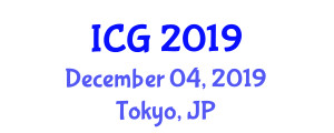 International Conference on Geohydrology (ICG) December 04, 2019 - Tokyo, Japan