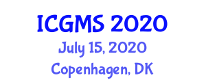 International Conference on Geological Modelling and Seismology (ICGMS) July 15, 2020 - Copenhagen, Denmark