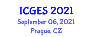 International Conference on Geology and Earth Sciences (ICGES) September 06, 2021 - Prague, Czechia