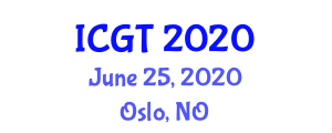 International Conference on Geometry and Topology ICGT on June 25-26