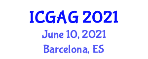 International Conference on Geomorphology and Applied Geography (ICGAG) June 10, 2021 - Barcelona, Spain