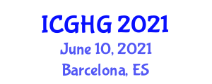 International Conference on Geomorphology and Human Geography (ICGHG) June 10, 2021 - Barcelona, Spain