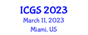 International Conference on Geomorphology and Seismology (ICGS) March 11, 2023 - Miami, United States