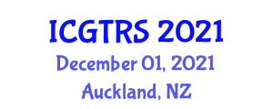 International Conference on Geophysical Techniques and Remote Sensing (ICGTRS) December 01, 2021 - Auckland, New Zealand