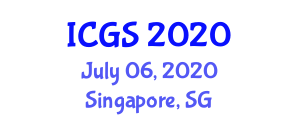 International Conference on Geophysics and Seismology (ICGS) July 06, 2020 - Singapore, Singapore