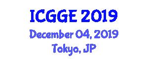 International Conference on Geosciences and Geological Engineering (ICGGE) December 04, 2019 - Tokyo, Japan