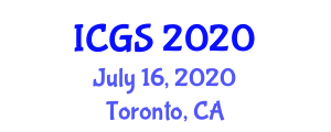 International Conference on Geosciences and Seismology (ICGS) July 16, 2020 - Toronto, Canada
