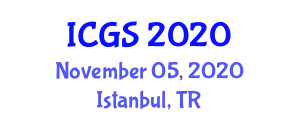International Conference on Geosciences and Seismology (ICGS) November 05, 2020 - Istanbul, Turkey