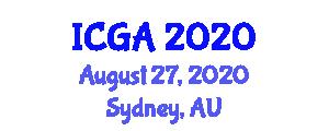 International Conference on Geosynthetic Applications (ICGA) August 27, 2020 - Sydney, Australia