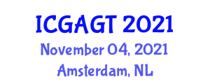 International Conference on Geotechnical Applications of Geophysical Techniques (ICGAGT) November 04, 2021 - Amsterdam, Netherlands