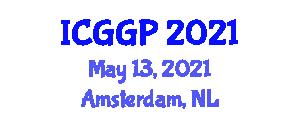 International Conference on Glacial Geology and Palaeoglaciology (ICGGP) May 13, 2021 - Amsterdam, Netherlands