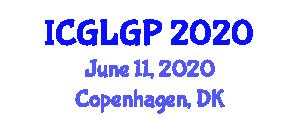 International Conference on Glacial Geomorphology and Palaeoglaciology (ICGLGP) June 11, 2020 - Copenhagen, Denmark