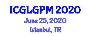 International Conference on Glacial Geomorphology, Palaeoglaciology and Methods (ICGLGPM) June 25, 2020 - Istanbul, Turkey