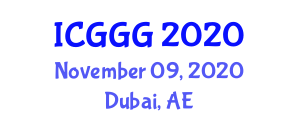 International Conference on Glaciology and Glacial Geology (ICGGG) November 09, 2020 - Dubai, United Arab Emirates