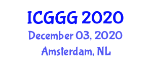 International Conference on Glaciology and Glacial Geomorphology (ICGGG) December 03, 2020 - Amsterdam, Netherlands