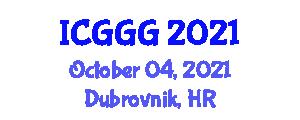 International Conference on Glaciology and Glacial Geomorphology (ICGGG) October 04, 2021 - Dubrovnik, Croatia