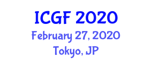 International Conference on Glass Fibers (ICGF) February 27, 2020 - Tokyo, Japan